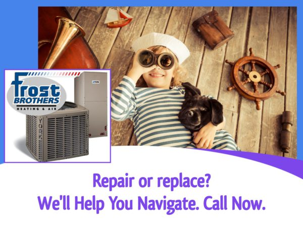 Heating System Service by Frost Brothers Heating and Air. Daikin, Trane, Carrier, Bryant