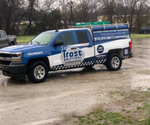 AirConditioning repair by Frost Brothers Lewisville, TX