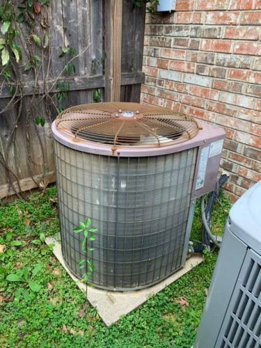 Replace Old Air Conditioner Lewisville TX Frost Brothers HVAC