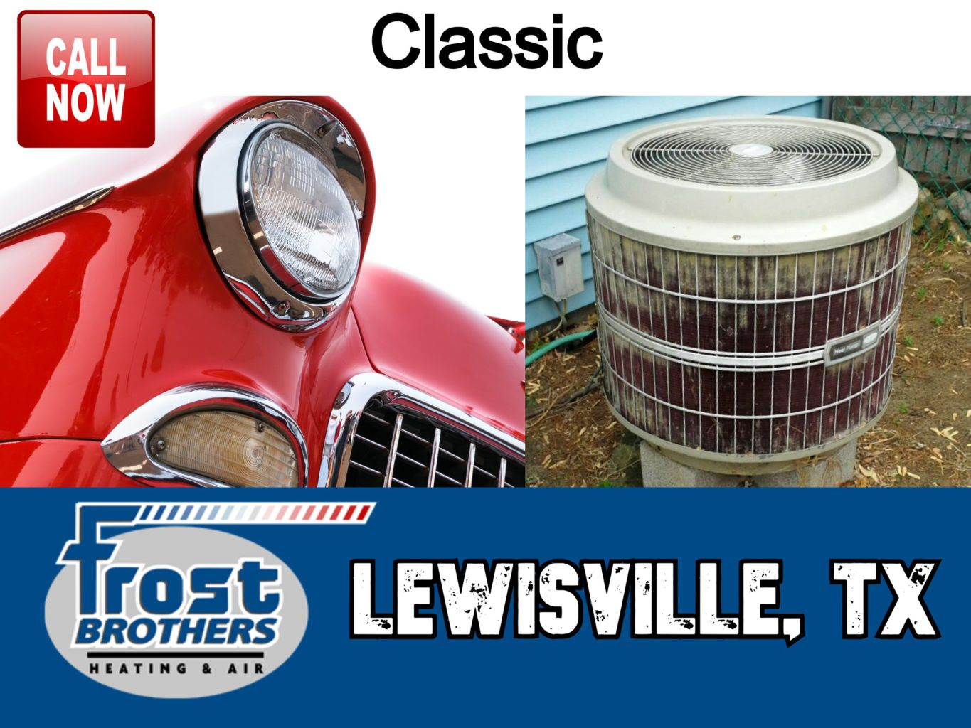 Replace Old Air Conditioner Lewisville TX