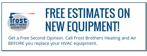 install new air conditioning unit Frost Brothers heating and air Lewisville TX