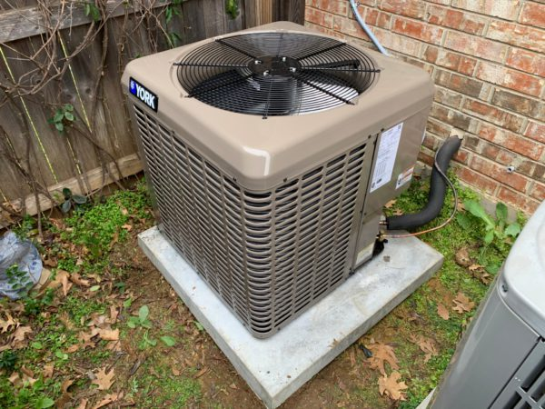 new heating and air conditioner