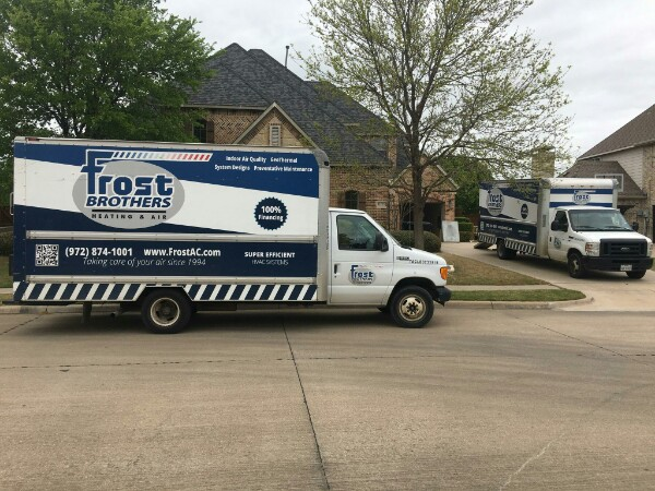 Air Conditioner and Heat Pump Installation From Frost Brothers